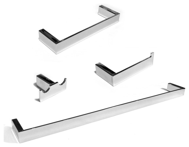 celeste platinum 4-pc set wall-mounted bathroom accessories