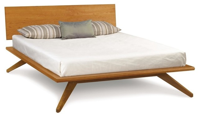 Copeland Astrid Bed With 1 Headboard Panel Scandinavian