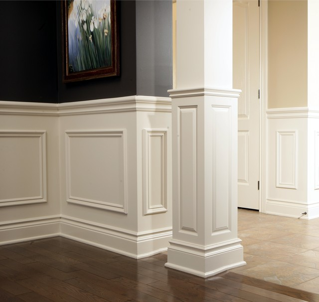 Chair Rail Applique Columns Traditional Ottawa By