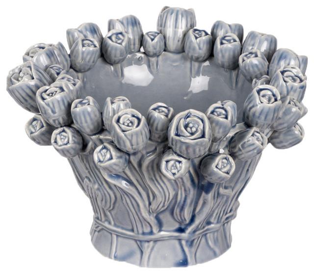 Marisol Vase, Light Blue