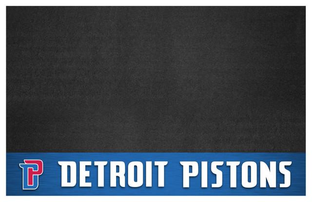 Nba Detroit Pistons Grill Mat 26x42.