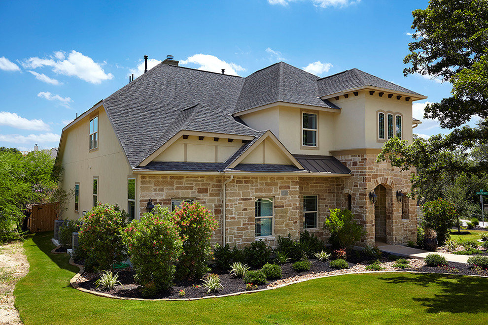 San Antonio Texas Front Gate Classic Dartmouth Exterior Traditional Austin By Gehan Homes