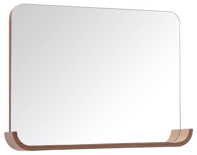 Mirror with Storage Shelf