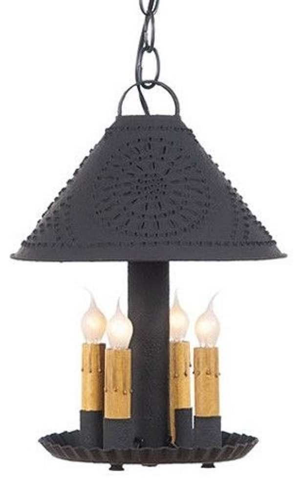 Britton Punched Tin Pendant Light