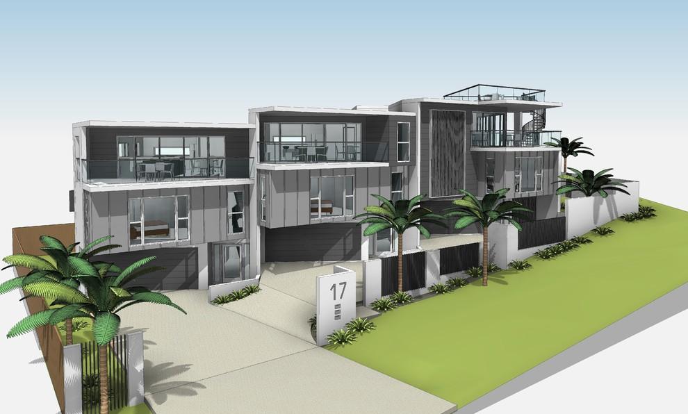 Mooloolaba Townhouses 3d CAD