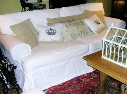 Couch Covers White