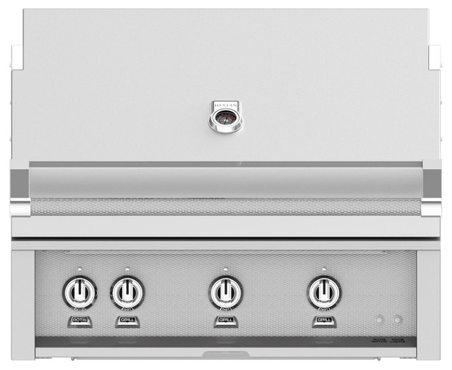 """Built-In Grill With Sear Burner, Steeletto, Natural Gas, 36""""."""