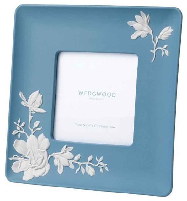Wedgwood Magnolia Blossom Frame 4x4 Contemporary Picture Frames