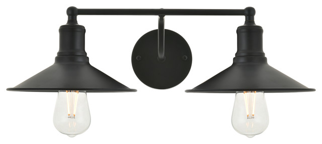 Etude 2 Light Black Wall Sconce