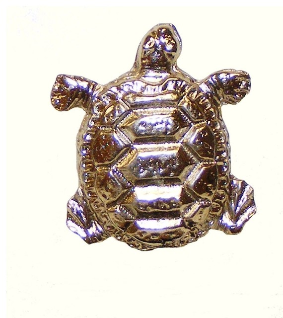 Turtle Cabinet Knob - Cabinet And Drawer Knobs - by Buck Snort Lodge Products