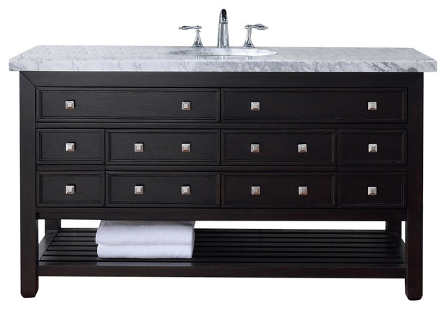 Creative Vancouver 335 In Single Bathroom Vanity  Single Sink Vanities