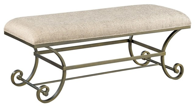 American Drew Savona Bed Bench. -1