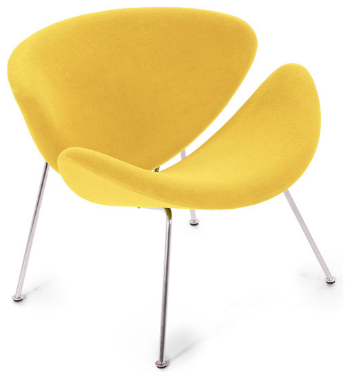 Easy Chair,  Lysergic Yellow Fabric