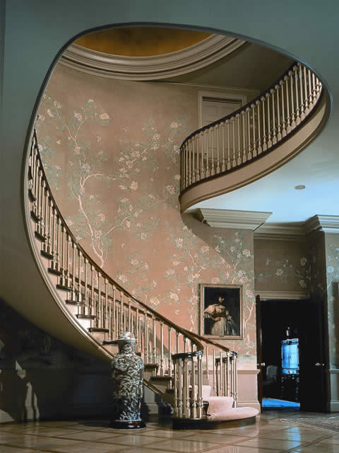 Custom Traditional Stairways