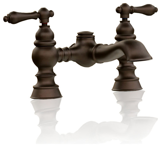 Craftsman Style Bathroom Faucets: Vintage Style Kingston Brass Oil Rubbed