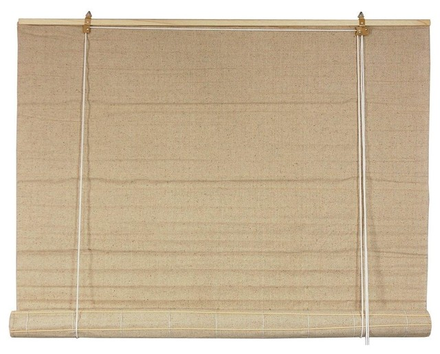 bianco roll up blinds 24 in x 72 in traditional
