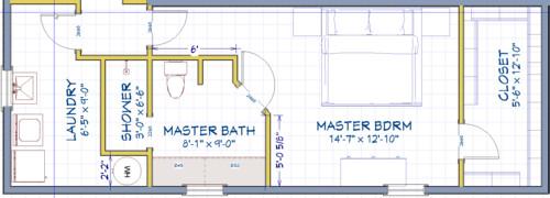 Need Help On Garage Conversion Floorplan