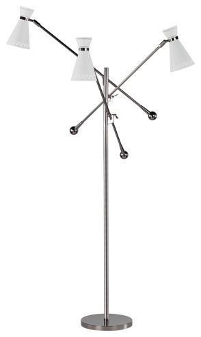 Jonathan Adler Havana Adjustable Floor Lamp Midcentury Floor Lamps