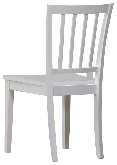 Homelegance Whimsy Kids' Desk Chair in White traditional-kids-chairs