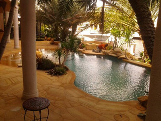 Florida Backyard Design Pool Patios By Matthew Giampietro