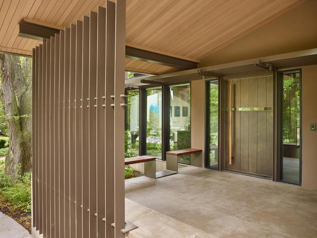 Midwest remodel entry omaha by apollo design studio for Exterior remodel and design omaha