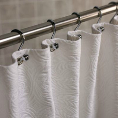 Shower Curtains cotton shower curtains : Guest Picks: Shower Curtains to Lust After
