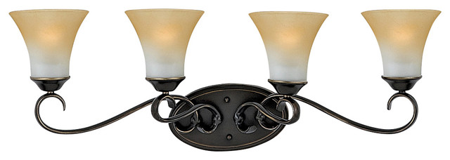 Duchess bath fixture traditional bathroom vanity - Champagne bronze bathroom vanity light ...