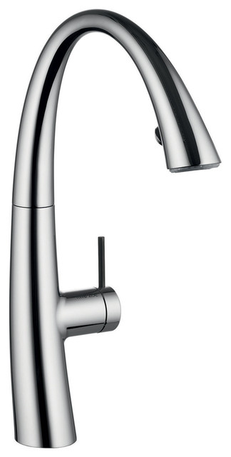 Kwc Kitchen Faucets | Kwc Faucets 102 000 Zoe Pull Down Kitchen Faucet Chrome 8 44 X3 69 X15