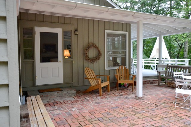 Country home design photo in Other