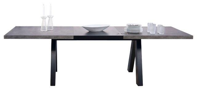 Apex Extending Dining Table Transitional Tables By Temahome Houzz