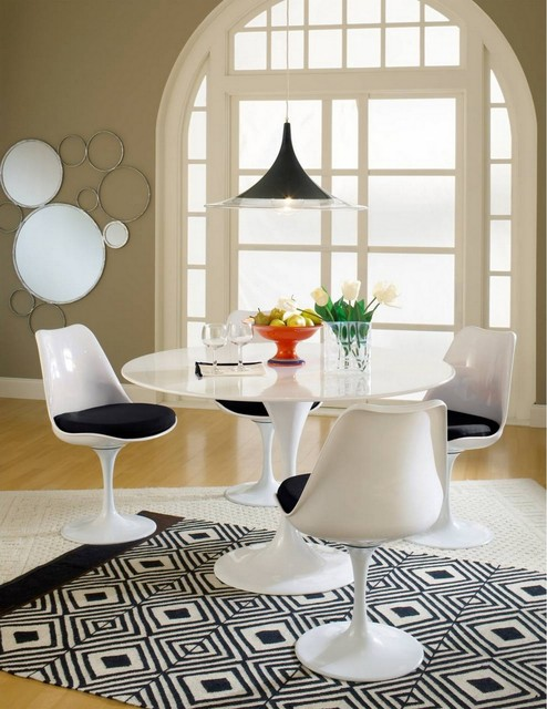Eero Saarinen Tulip Table Cararra Marble By Rove Concepts Modern - Eero saarinen tulip table and chairs