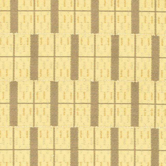 Building Blocks Mustard Yellow Brown Tan Beige Stripe Woven Fl Upholstery Fabric