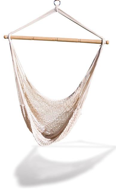Hammaka Hammocks White Hanging Net Chair.
