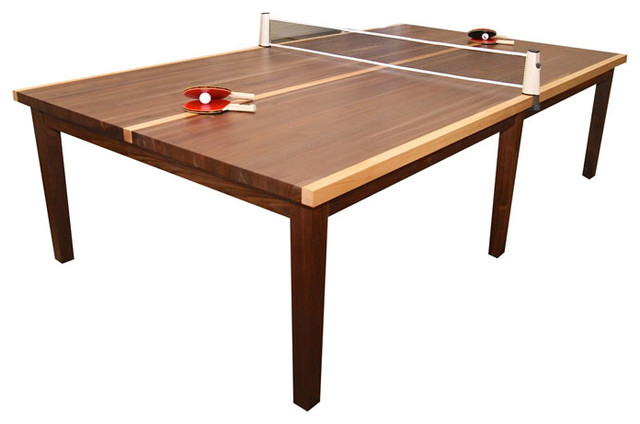 Winston Table Tennis by Venture Games, Walnut