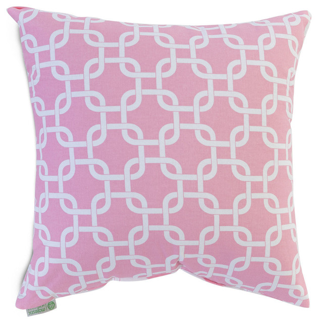 Indoor Links Large Pillow - Contemporary - Decorative Pillows - by Majestic Home Goods, Inc.