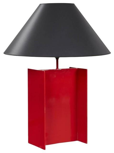 Caitlan Table Lamp Base Red
