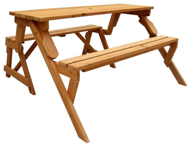 Convertible Picnic Table U0026 Garden Bench