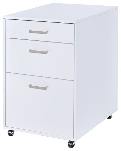 Coleen File Cabinet, White.