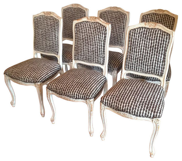 Dining Chairs With New Celerie Kemble Upholstery   $4,000 Est. Retail  Farmhouse