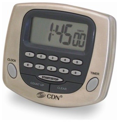 Direct Entry Digital Cooking Timer And Clock