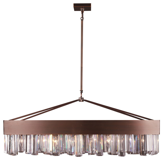 Dorothea Copper Pendant Light  sc 1 st  Houzz & Dorothea Copper Pendant Light - Contemporary - Chandeliers - by ZEEV ...