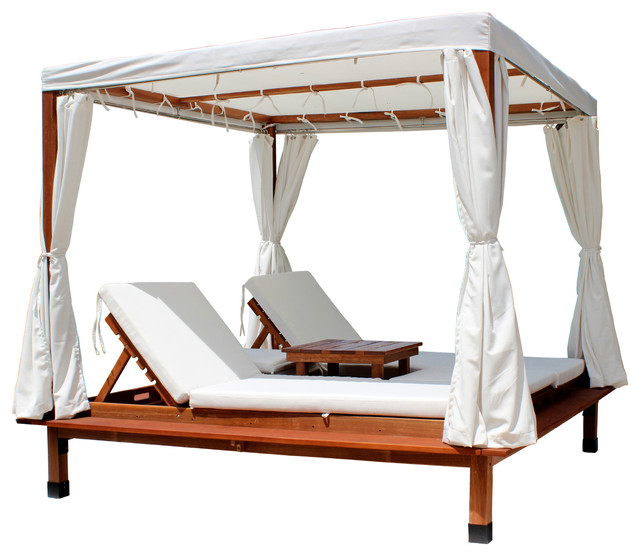 Sapphire Outdoor Cabana With Canopy