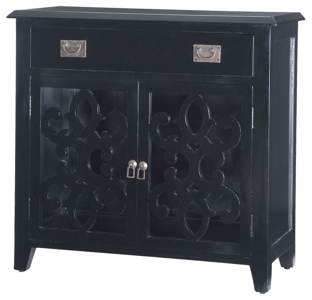 Alsace Chest in Black - Mediterranean - Accent Chests And Cabinets - by Fratantoni Lifestyles