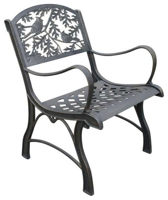 Cardinal Cast Iron Chair, Cardinal