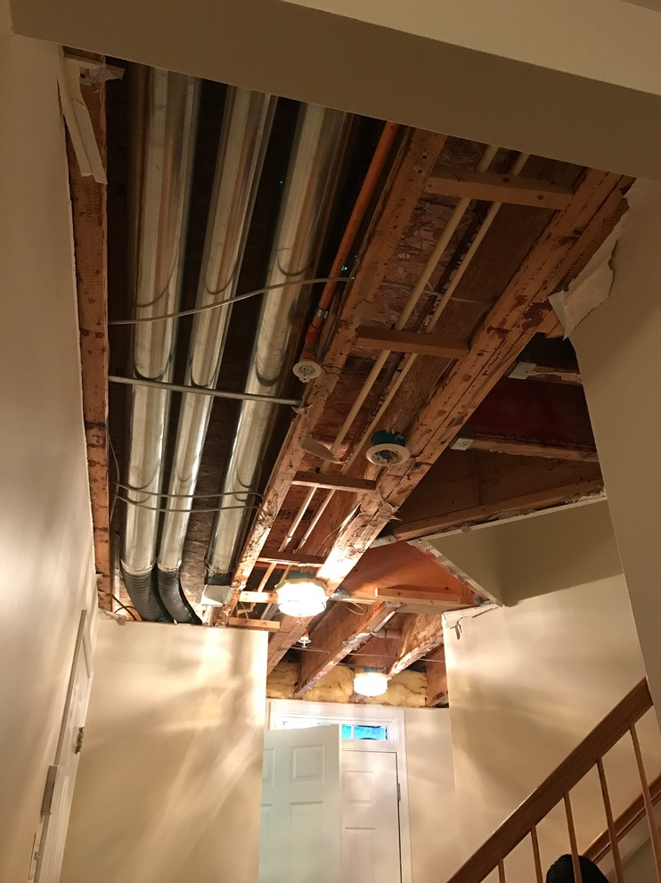 Water Damage Repair Project Before Photo