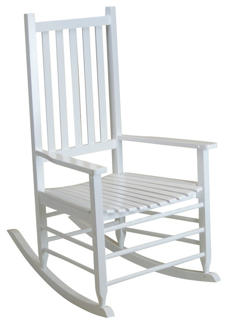 Terrific Hinkle Chair White Mid Sized Adult Rocking Chair Andrewgaddart Wooden Chair Designs For Living Room Andrewgaddartcom