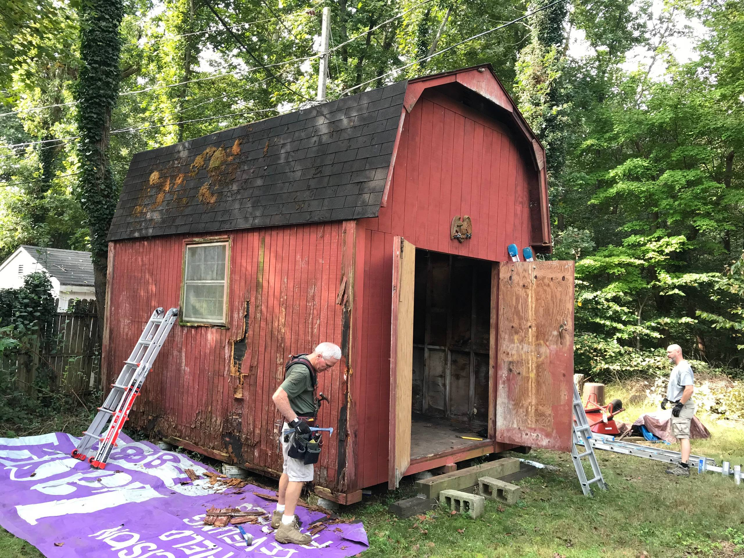 Shed Renovation Project