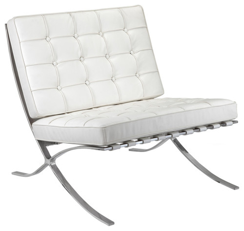 M331 Barcelona Lounge Chair White Leather · More Info  sc 1 st  Houzz & I am interested in 2 of these. How do I contact you?