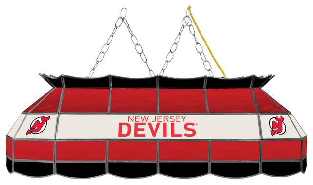 Nhl 40 Quot Handmade Tiffany Style Lamp New Jersey Devils