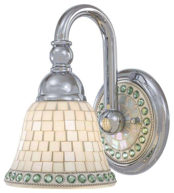 Minka Lavery Bathroom Lighting minka lavery 6051-77 piastrella bathroom light in chrome